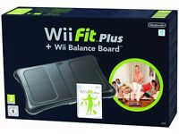 Nintendo Wii with Wii Fit plus lots of other games including Mario Kart and Wii Sports