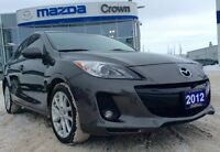 This ultra low mileage 2012 Mazda 3 GT is sure to impress with