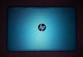 HP 15.6 inches Windows 10 beautiful teal colour - only used twice