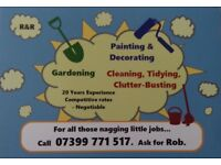 Painter & Decorator,20 Years Experience ££,Competetive rates ££ ,Call Rob,Fulham and surrounding :).