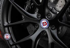"HRE P101 Wheels 20"" & 21"" Satin Black (Suitable for Lamborghini Aventador or others - please check)"