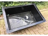 Rectangle 3ft Fibreglass Growing On Quarantine Pond Koi Fish Tank Liner