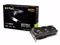 Zotac GeForce GTX 980Ti 6GB AMP Omega Edition 6144MB GDDR5 PCI-Express Graphics Card