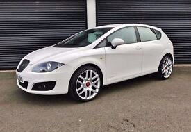 2012 SEAT LEON 1.6 TDI 105 S COPA CR WHITE **LOW MILES** FINANCE AVAILABLE