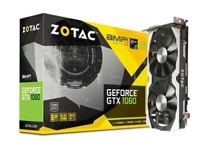 Almost new Zotac GeForce GTX 1060 Amp! Edition 6GB Video Card