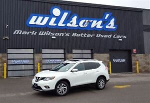2014 Nissan Rogue SV AWD! PANORAMIC ROOF! NEW BRAKES! HEATED SEA