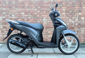 Honda Vision 110 (67 REG) in grey, NEW SHAPE! One Previous Owner, As New, ONLY 171 miles!