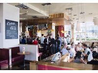 Full time bar staff required for busy river front pub in Vauxhall £7.20 per hour plus tips