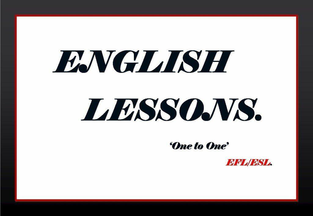 ENGLISH TEACHER- ONE TO ONE-PRONUNCIATION-CONVERSATION
