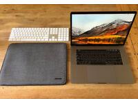"MacBook Pro 2017 15"" Space Grey, 2.9Ghz, 16GB ram, 4GB Radeon 560, 512GB SSD"