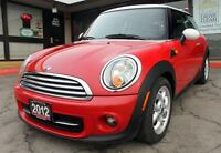 2012 MINI Cooper | ONLY 60K | Sunroof | Accident-FREE