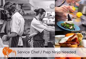 Chef/kitchen ninja needed!