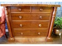 NEW SALE PRICE - LARGE VICTORIAN CHEST OF DRAWERS - WE CAN DELIVER
