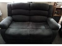 2 x's 2 Seater Reclining Sofas