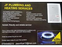 Plumber & Gas safe engineer, no job too small!