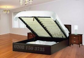 == MOST LUXURIOUS BED == STORAGE LEATHER BED FRAME DOUBLE,KING,SINGLE GOOD DEAL WITH MATTRESS