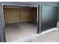 Large Secure 2 Garage Unit / Lockup Storage with power and lighting For Rent