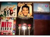 Over 200 x Vinyl 7 inch & 14 x 12 inch LP Records Singles 1970s 80s 90s Chart hits ALL VGC +
