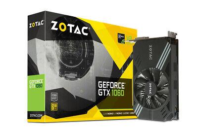 ZOTAC GeForce GTX 1060 Mini, ZT-P10600A-10L, 6GB GDDR5 VR Ready. Compact
