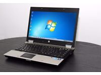 "Business Laptop HP Elitebook 14"" Intel Core i5 @ 2.4Ghz, 4GB DDR3 RAM, 250GB HDD, Windows 7 Pro x64"