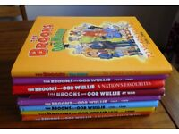 Collection of Broons & Oor Wullie books
