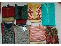 Ladies pakistani and indian style tops