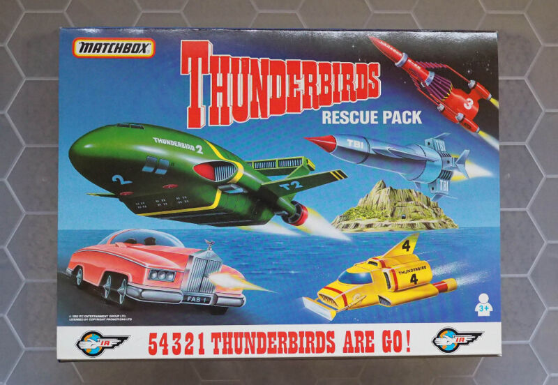 Thunderbirds Matchbox Rescue set. 5 models. Owned by a collector., used for sale  Abbeymead, Gloucestershire