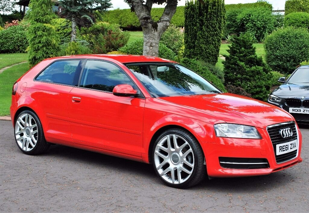 2011 audi a3 1 6 tdi bright red 3 door in toomebridge county antrim gumtree. Black Bedroom Furniture Sets. Home Design Ideas