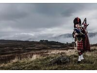Perthshire Wedding Piper. Weddings, Burns Suppers, Corporate events. Dundee, Fife, Anywhere.