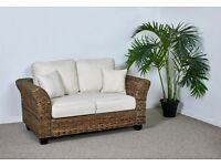 Medium 2 Seater Rattan Kingston Sofa