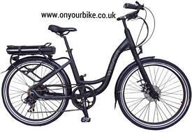 ***NEW*** ELECTRIC *** Wisper 705se Step Thru Aluminium Electric Bike in STOCK