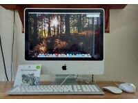 "iMac 20"" early 2009, ungraded 8gb Ram, fresh install snow leopard - runs like a dream"