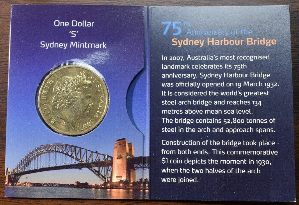 JFK Half Dollar U.S Famous Bridges SYDNEY HARBOUR BRIDGE Coin Australia