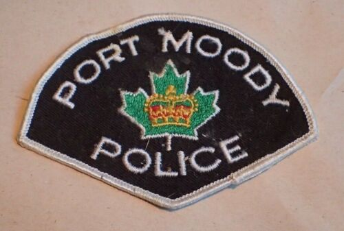 Vintage Port Moody CANADA Police Patch - OBSOLETE?