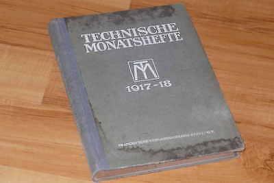 Technische Monatshefte 1917/18 // Zeitschrift für Maschinentechnik und Bergbau