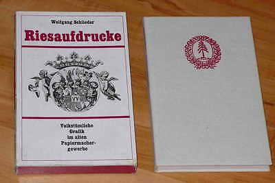 RIESAUFDRUCKE / Altes Papiermachergewerbe & alte Drucktechnik / Papiermacher /