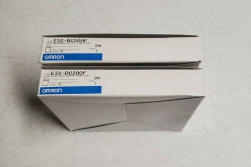 2  Omron Photoelectric Switch Fiber Unit E32-DC200F