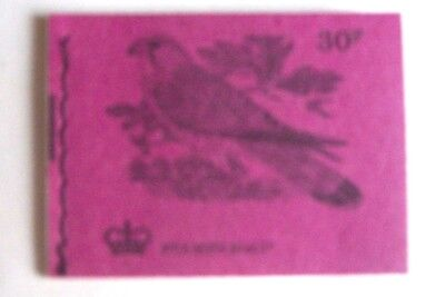 GB Stiched Booklet 30p DQ 64 June 1972 Kestrel