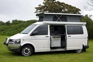 VW 4Motion Automatic Frontline Campervan with Shower, Very Low Km Albion Park Rail Shellharbour Area Preview