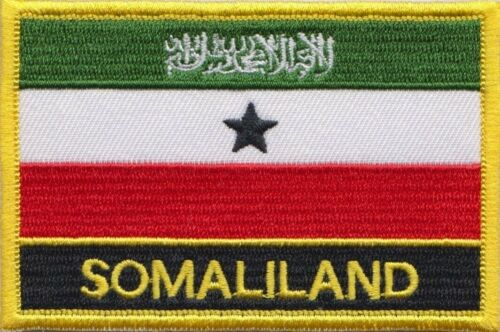 Somaliland Flag Embroidered Patch - Sew or Iron on