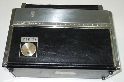 BROKEN Zenith Trans-Oceanic Royal 3000-1 Radio FM AM Multiband Vintage Shortwave Trans-oceanic Radio