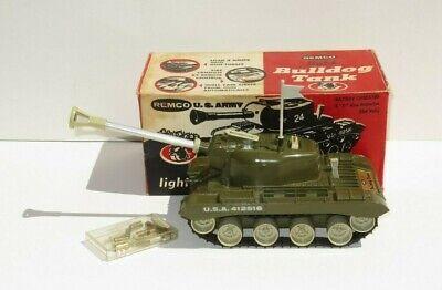 VINTAGE Remco Bulldog Light Tank
