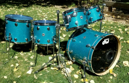 DRUM WORKSHOP DW COLLECTORS TEAL GLASS - MINT