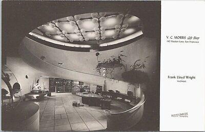 San Francisco CA Frank Lloyd Wright Architect V.C. Morris Gift Shop 1950s