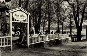 ferch brandenburg 1967 ddr partie haus am see gastst tte lokal cafe schwielowsee ebay. Black Bedroom Furniture Sets. Home Design Ideas