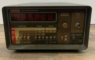 Keithley 614 Electrometer Current Resistance Voltage And Charge Meter.