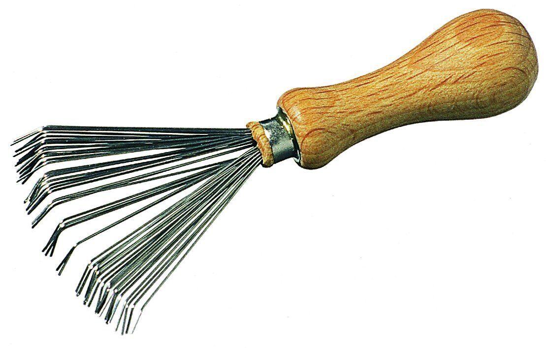 Kamm - Bürstenreiniger zum Entfernen von Haaren / Rechen aus Draht Kammreiniger