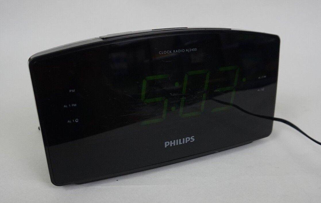112PH59 Philips AJ3400 Clock Radio