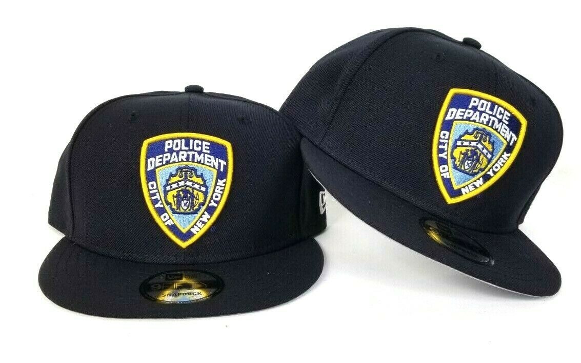 9059187b5 New Era Navy Blue New York City Police Department NYPD Logo 9Fifty ...