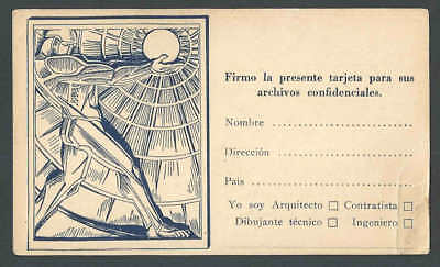 1921 NY American Architect Magazine Inquires About Your Titled See Info